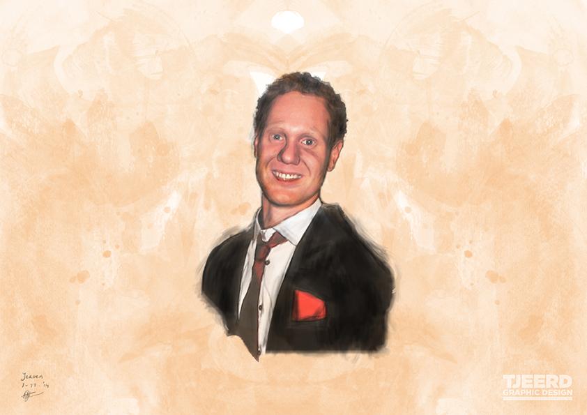 Digitaal Portret 'Jeroen'